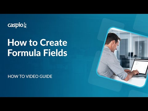 How to Create Formula Fields in Caspio