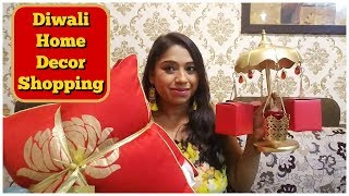 Diwali Shopping From Home Centre 2018 | Home Decor Shopping & Haul | Indian Mom Studio