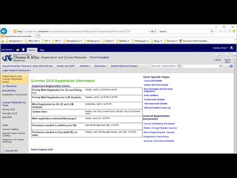 SP2010 Page Template Demo