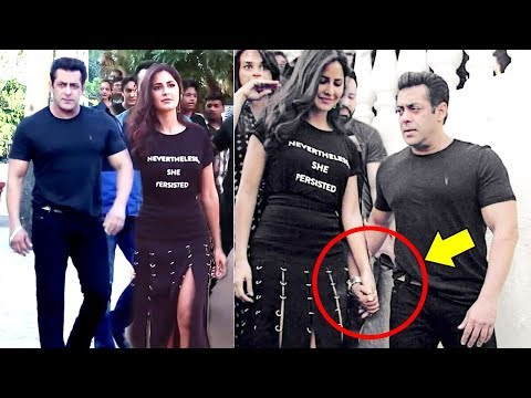 Salman Khan Walks OPENLY With GIRLFRIEND Katrina Kaif At Tiger Zinda Hai Promotions