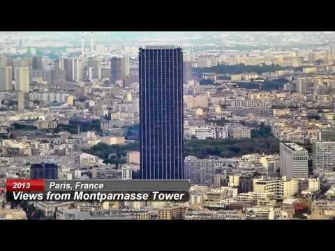 The wonderful views from the Montparnasse Tower, Paris
