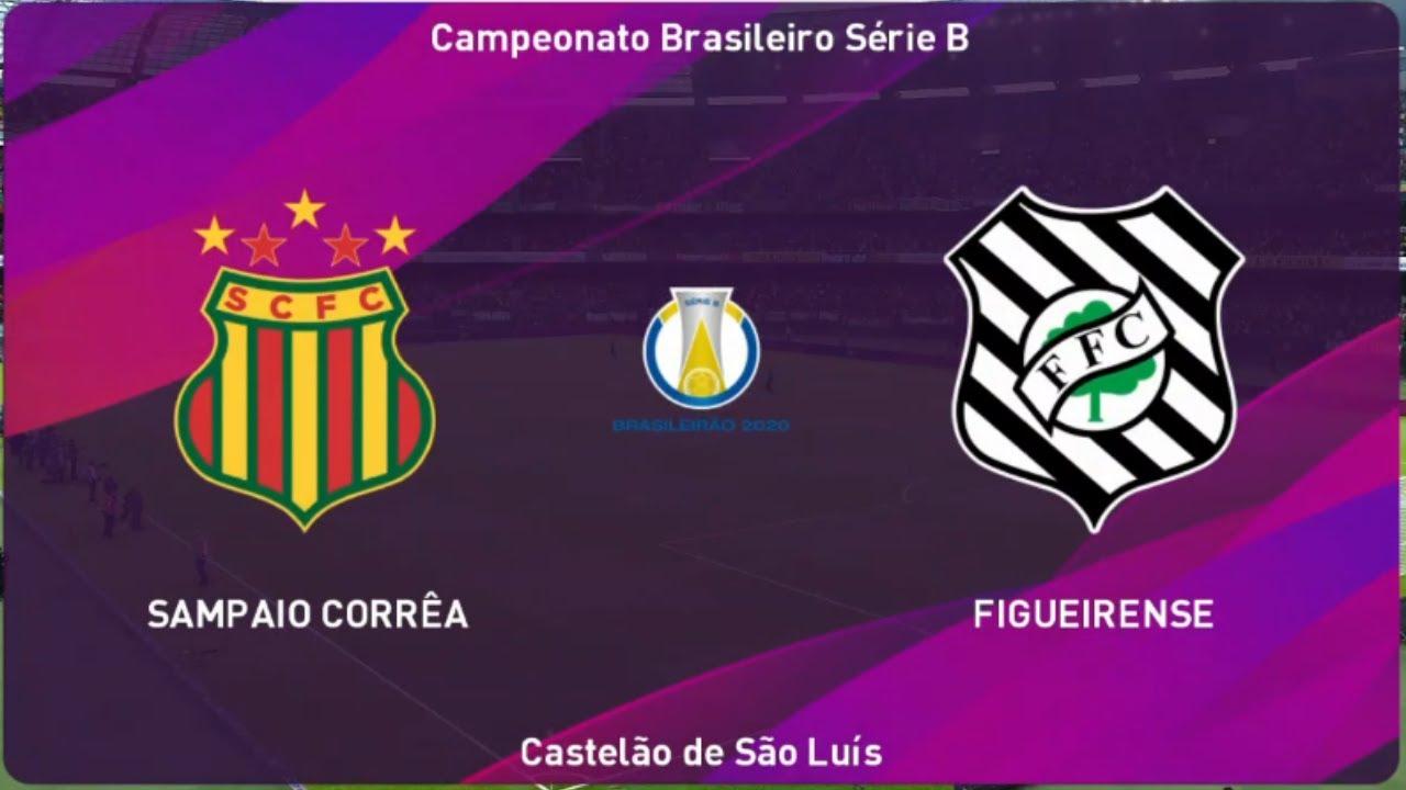 Sampaio Correa X Figueirense 4 Rodada Campeonato Brasileiro 2020 Serie B 19 08 2020 Youtube