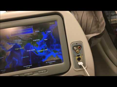 Singapore Airlines Flight SQ529 from Chennai to Singapore ...