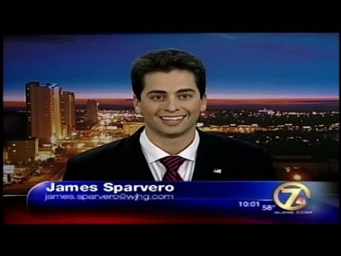 James Sparvero WJHG NewsChannel 7 News Reel Spring 2013