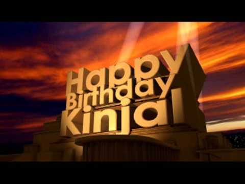 Happy Birthday Kinjal