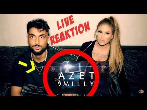 AZET - 9 MILLY ( prod. by DJ A-BOOM ) Reaktion | Lisha&Lou