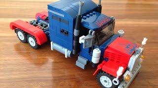 Lego Optimus Prime Tutorial - Build a Transformer Set