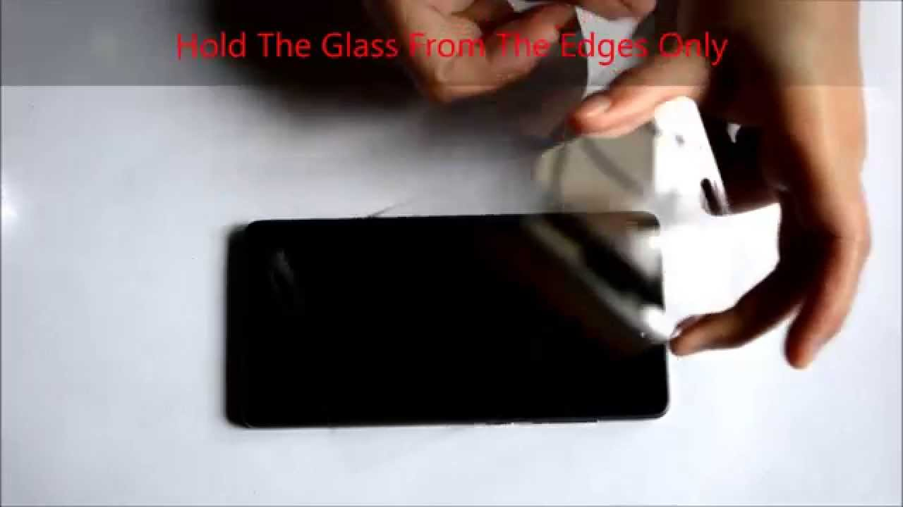 How to remove bubbles from tempered glass screen protectors