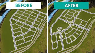 How to Turn a BOŔING Grid into an AMAZING Layout | Cities: Skylines – Design and Manage S3E15