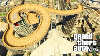 GTA 5 PC Mods - HUGE SPIRAL RAMP STUNT TRACK! GTA 5 Ramp Mod & Stunt Mod Funny Moments!!!