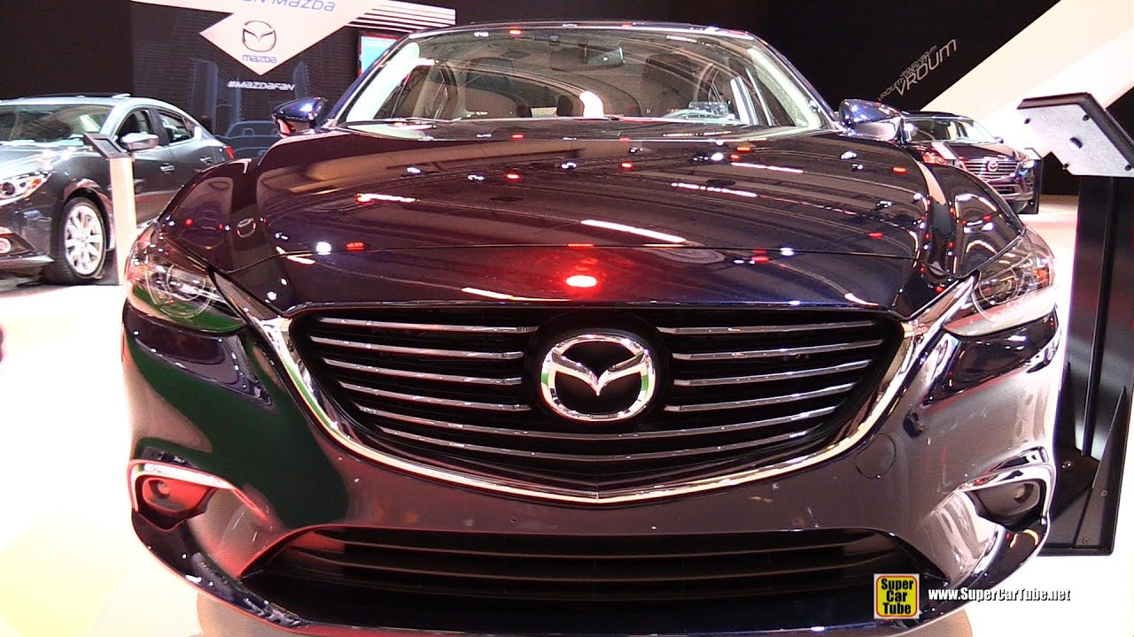 2016 Mazda 6 SkyActive  Exterior and Interior Walkaround  2015