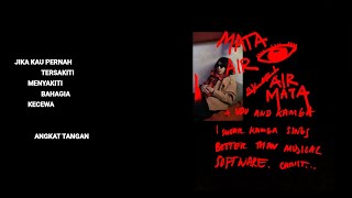Hindia ft. Natasha Udu - Mata Air (Official Lyric & Commentary Video)