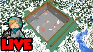Let's Play Minecraft LIVE (Quarry Dig 2)