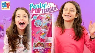Party Pop Teenies Double Popper SURPRISE! Unboxing and Review! | Sneak Peek