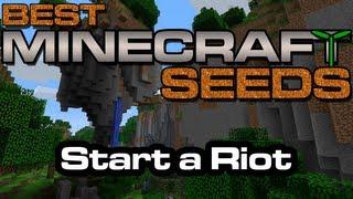 Best Minecraft Seeds - Start a Riot [Xbox 360 Edition] thumbnail
