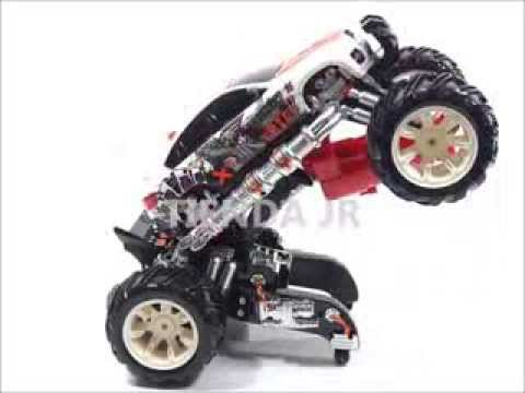 Carro Transformer Monster Truck Lanza Dardos Mira Laser Juguete Para