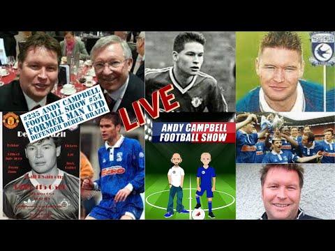 #235 Ex Man Utd & Cardiff defender Derek Brazil - AC Football Show