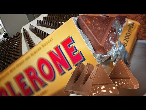 Thumbnail: Amazing food processing machines 2017 | Toblerone