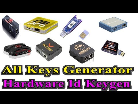 All Keys Generator | Hardware Id Keygen - YouTube