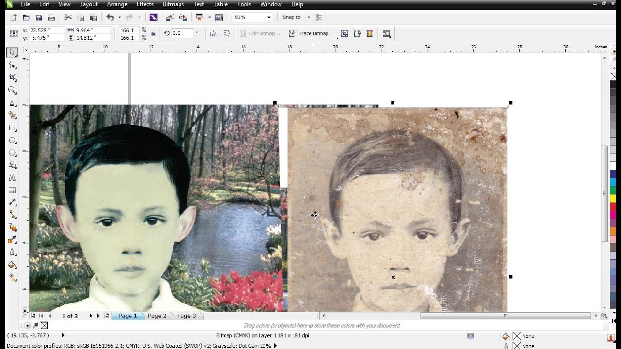 Cara Memperbaiki Photo Yang Rusak Dengan Photoshop Youtube