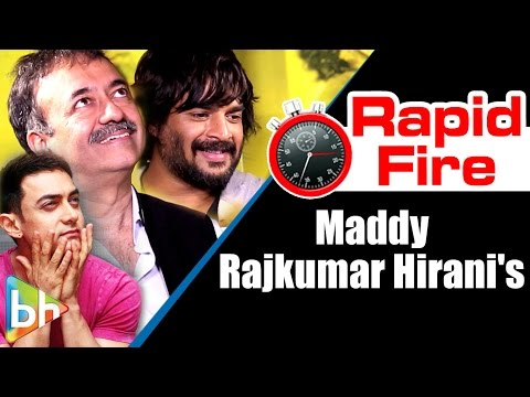 R Madhavan   Rajkumar Hirani's Interesting Rapid Fire On Ranbir Kapoor, Aamir Khan, Mani Ratnam
