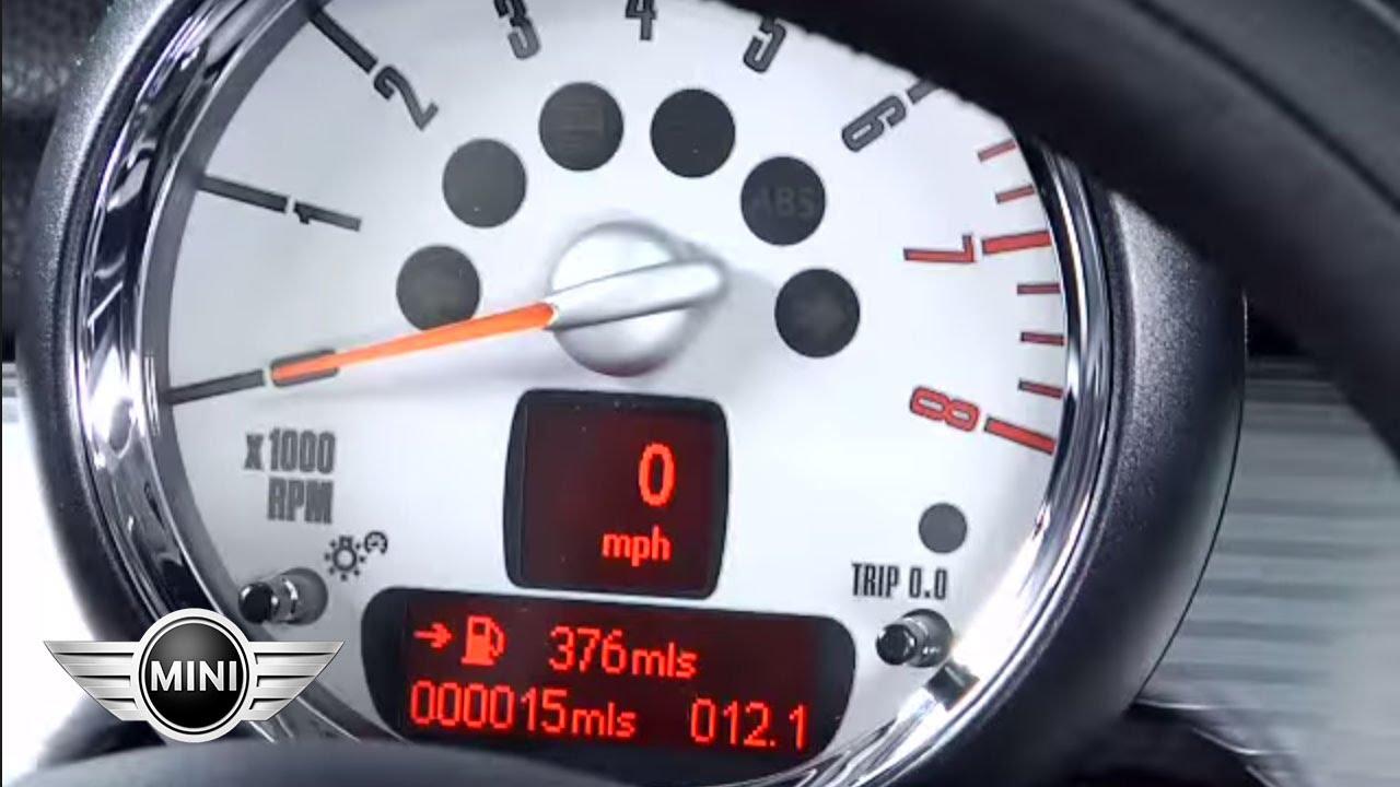 MINI USA | Tachometer Display