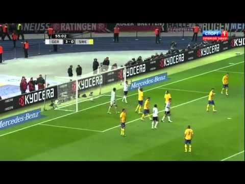 Германия - Швеция 4:4 обзор матча/ Germany - Sweden 4:4 Highlights