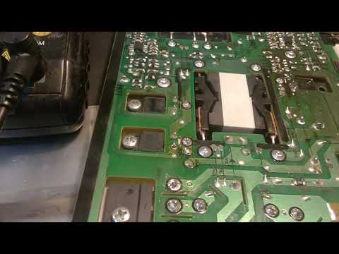 телевизор Samsung UE40d5000PE не включается   КЗ