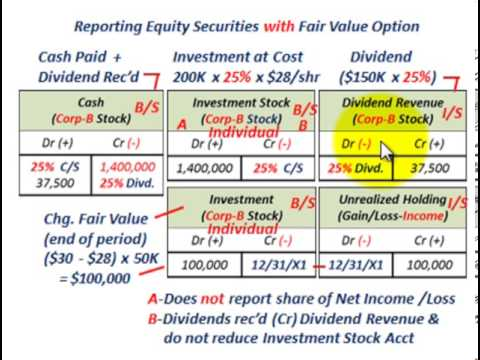 Fair value option equity method investments