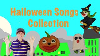 Halloween Kids Songs Collection | Four Fun Songs | Preschool, Kindergarten, Learn English