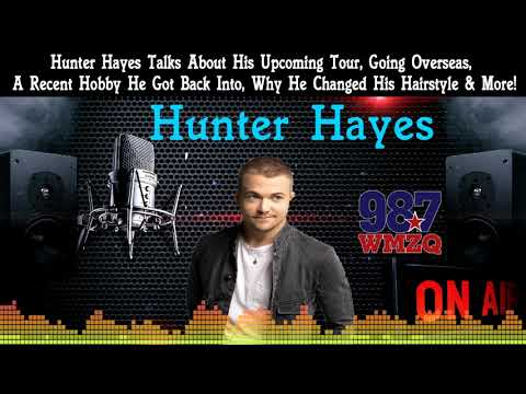 Corey Calhoun - Hunter Hayes Talked With Me About Why He Changed His Hair, Touring & More!