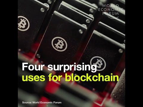 Four surprising uses for blockchain