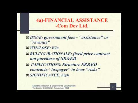 Tax Court Cases - 7 Financial Assistance