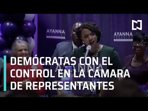 Partido Demócrata tiene ventaja en Cámara de Representantes - Las Noticias