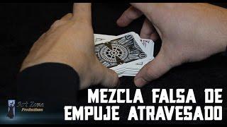 Mezcla Falsa de empuje atravesado revelado - Magia con cartas gratis