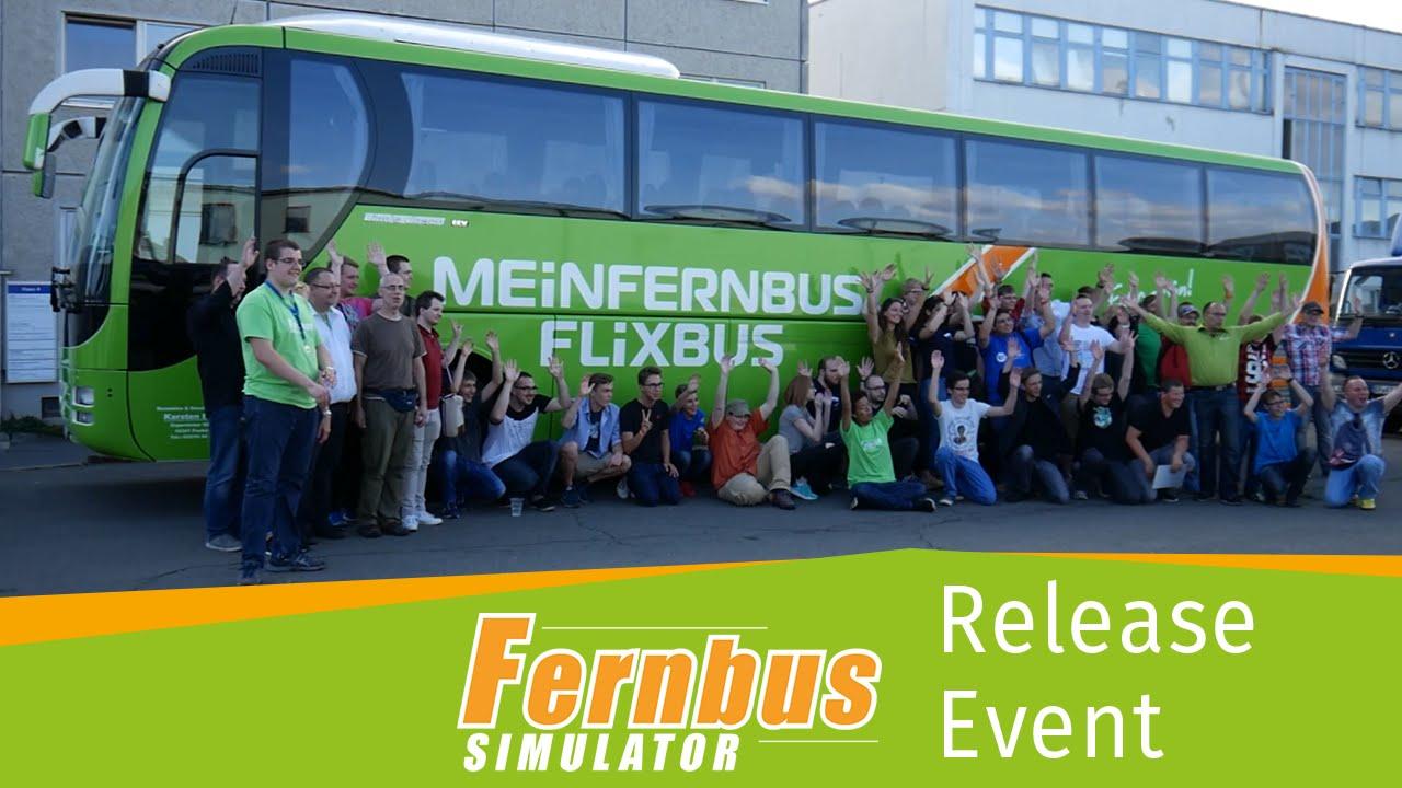 fernbus simulator release event youtube. Black Bedroom Furniture Sets. Home Design Ideas