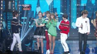 【1080P 】K.Will & SISTAR & BOYFRIEND- White Love (21 Dec,2012)