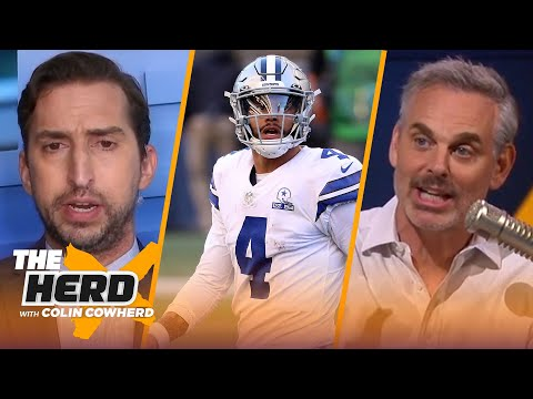 Cowboys insist on poor business strategies w/ Dak; talks Zion & Tiger Woods — Nick Wright | THE HERD