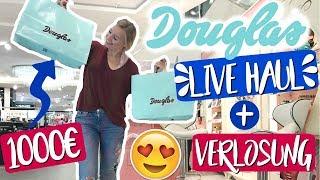 1000€ LIVE HAUL DEN IHR BESTIMMT! MEGA DOUGLAS VERLOSUNG! I Giulia Groth