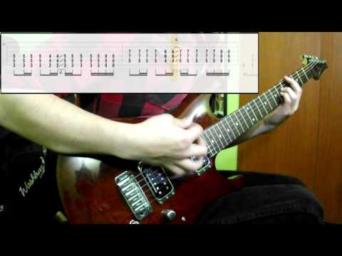 Muse - Hysteria (Guitar Only) (Play Along Tabs In Video)