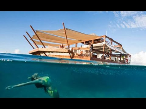 Cloud 9 Fiji, Amazing Floating Bar - Best Travel Destination
