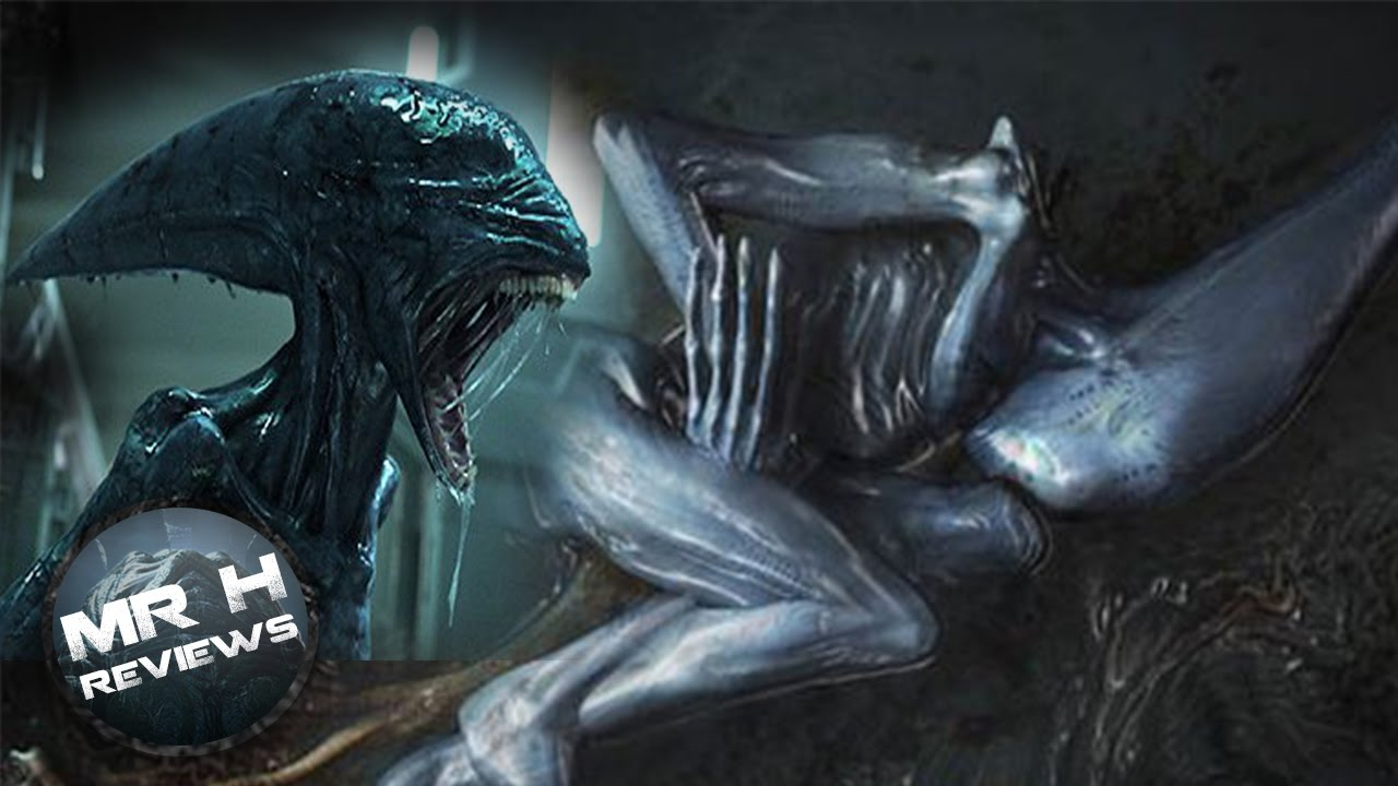 What happened to the deacon in prometheus youtube for Prometheus xenomorph mural