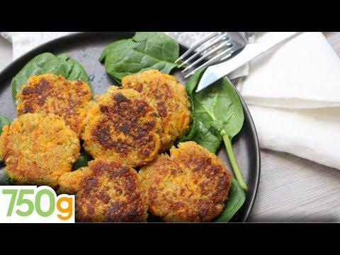 recette-de-galettes-de-quinoa-aux-carottes---750g