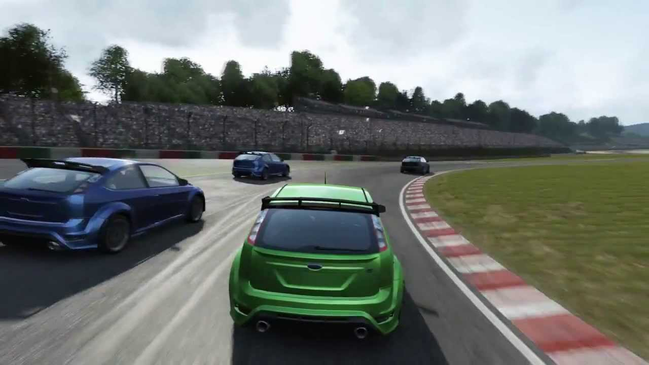 ps4 gran turismo 6 ford focus rs gameplay demo hd youtube. Black Bedroom Furniture Sets. Home Design Ideas