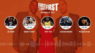 First Things First audio podcast (2.15.19)Cris Carter, Nick Wright, Jenna Wolfe | FIRST THINGS FIRST