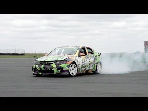 Drift Racing With Travis Pastrana