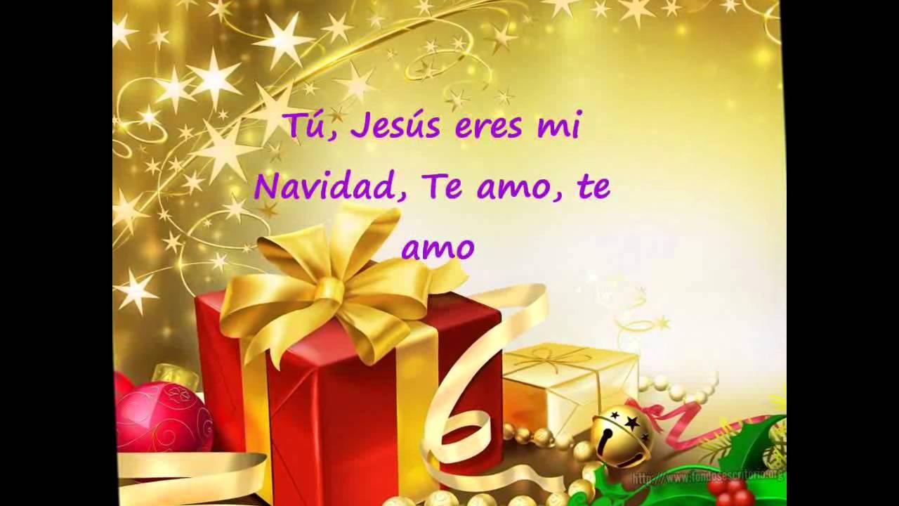Nació Jesús, con letra - Christine D`Clario - YouTube