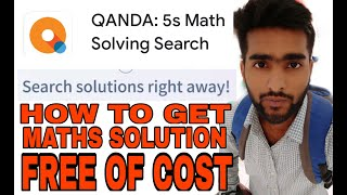 How to get free mathematics solutions from qanda app.    MD TALKIES screenshot 2