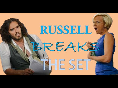 How Russell Brand Owns A Set (MSNBC Interview) Breakdown