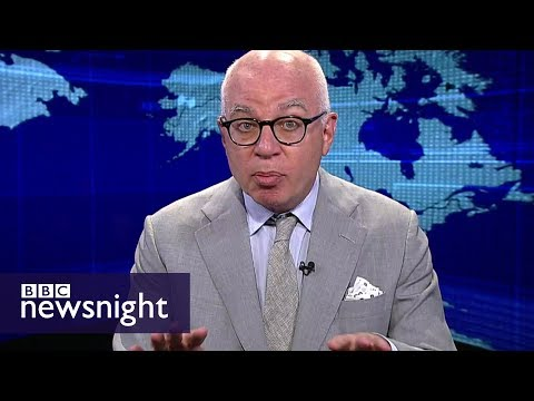 Michael Wolff: 'Everyone in the liberal media is a Trump enemy' - BBC Newsnight